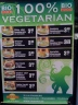 Vegetarische Karte