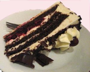 Schwarzwälderkirsch Torte